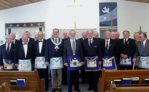 FREEMASONS CHURCH PARADE
