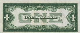 $1 silver certificate, series 1928