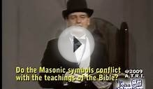 The bible and Masonic symbols